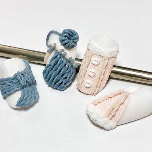 Knitting art cover