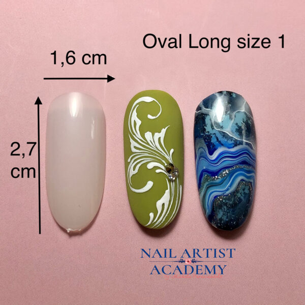 Tip oval long size 1