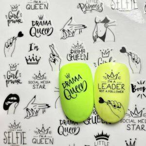 stickers girl power