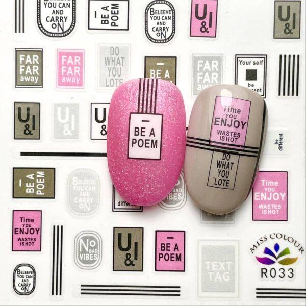 stickers plates stripes rosa