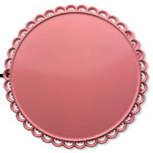 tip display tondo rosa