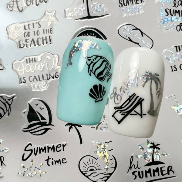 stickers summertime