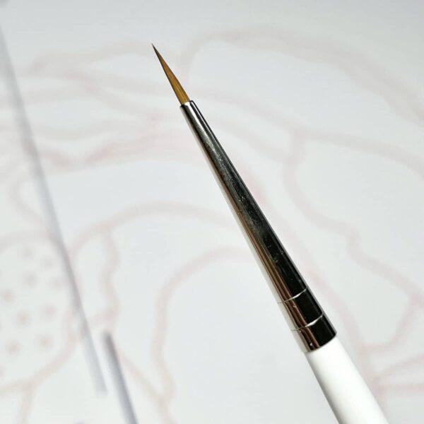 Pennello nail art versatile multiart kolinsky